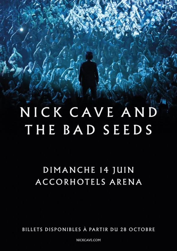 Nick Cave and The Bad Seeds, Accorhotels Arena, concert