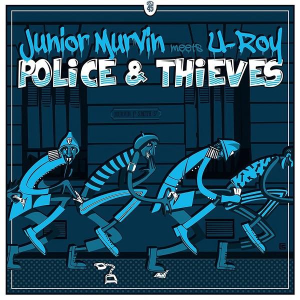 "Artwork "" Police & Thieves "" 2019 - Seb chevalier"