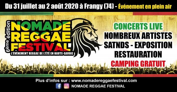 nomade reggae festival, 2020, frangy
