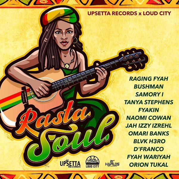 Artwork Rasta Soul Riddim - Upsetta Records et Loud City