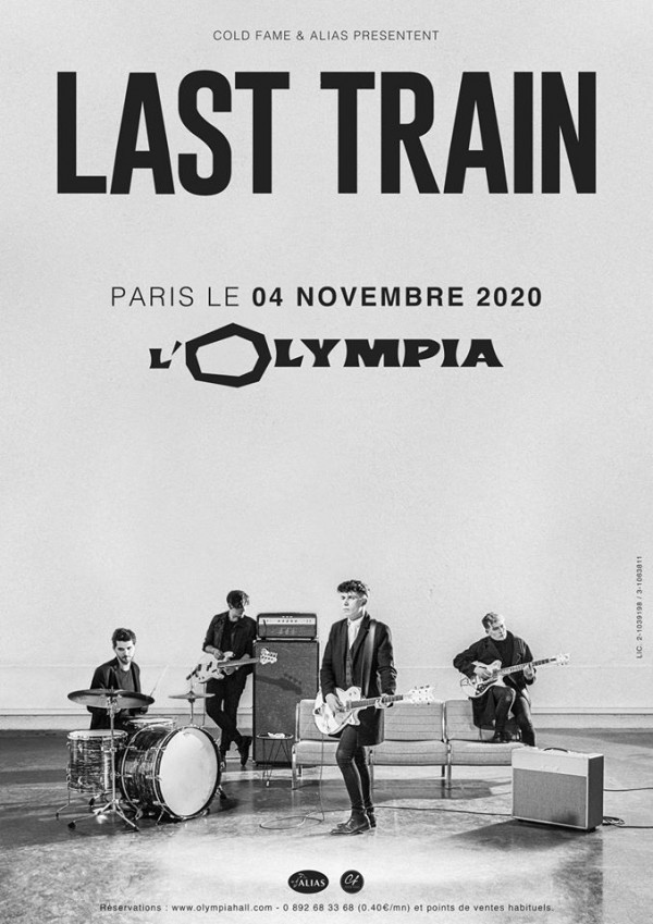 last train, olympia, concert, paris, rock