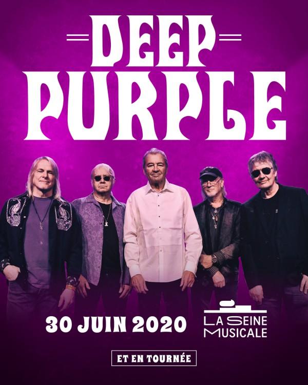 deep purple, concert, tournée, 2020, rock