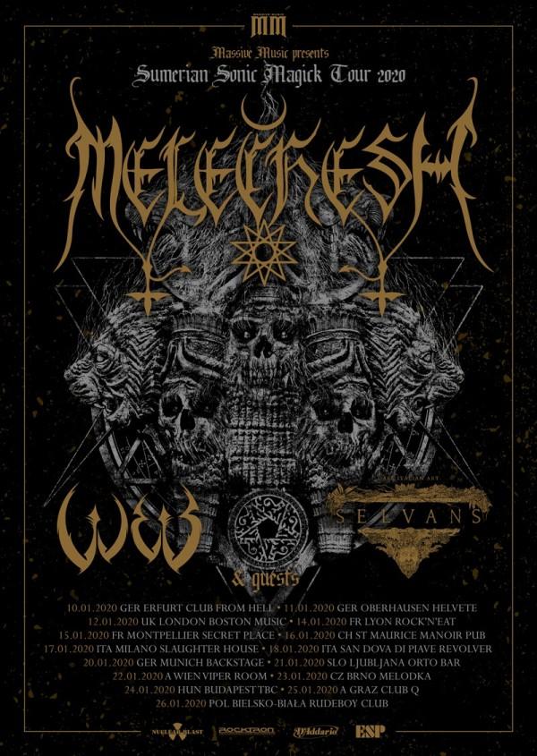 elechesh, black metal, 2020, tournée, Sumerian Sonic Magick