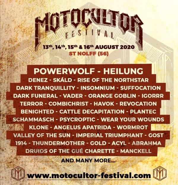 motocultor, 2020, festival, rotn, suffocation, vader, igorrr, klone