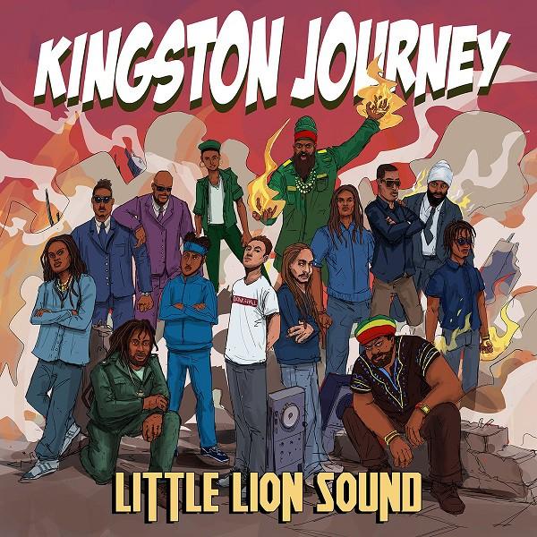 Cover Kingston Journey - Little Lion Sound - Evidence Music