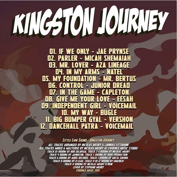 Tracklist Kingston Journey - Little Lion Sound - Evidence Music