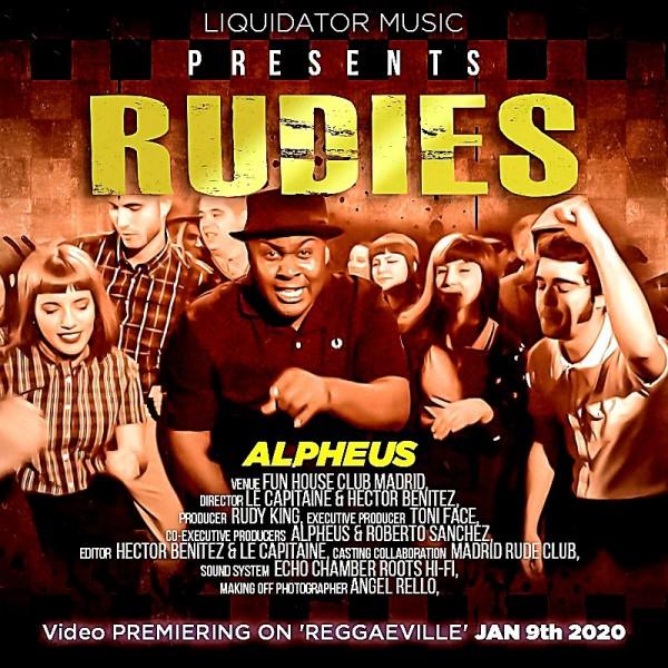"""Cover """" Rudies """", single Alpheus"""