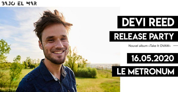 Flyer - Devi Reed au Metronome, le 16 mai - Release Party