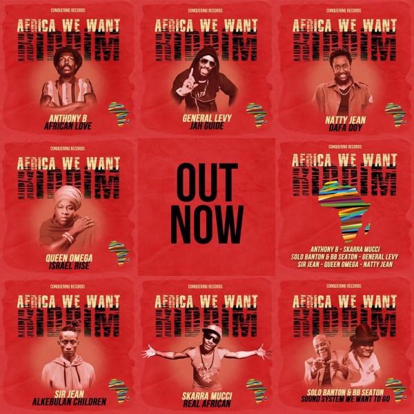 Visuel Africa We Want Riddim - Conquering Records