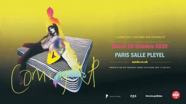 Suede Salle Pleyel Coming Up