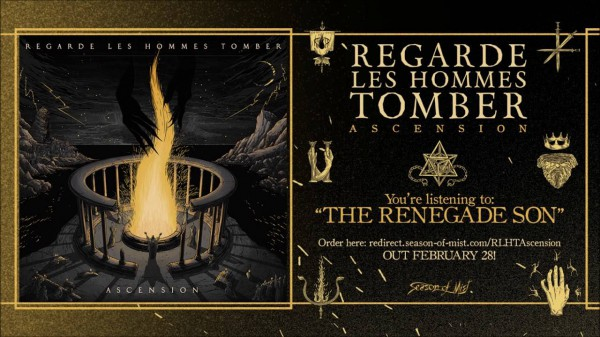 Regarde les Hommes Tomber, black metal, season of mist, 2020, the renegade son, ascension