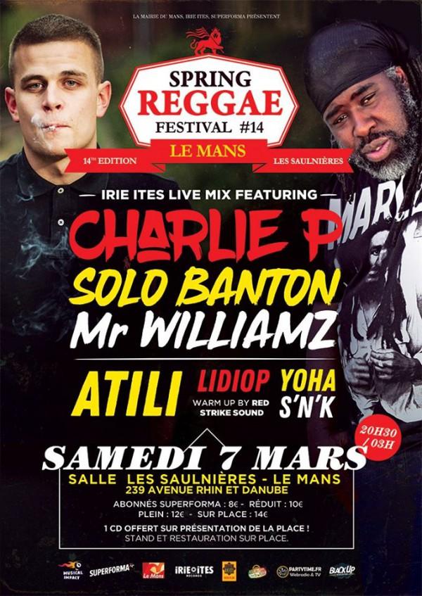 Spring Reggae Fest #14, Le Mans - 07/03/2020