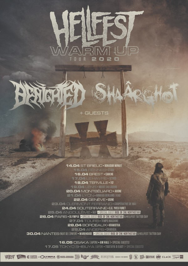 hellfest, warm-up, 2020, nantes, rise of the northstar, benighted