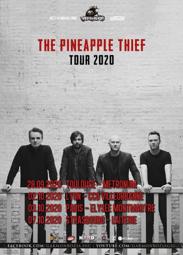 The Pineapple Thief, tour, 2020, Bruce Soord, Garmonbozia