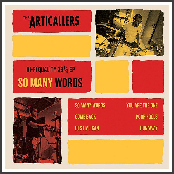 Cover So Many Words - The Articallers
