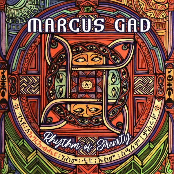 Marcus Gad - Rhythym of Serenity Cover Graphisme Rasta Soeur Selam Semrete Selassie