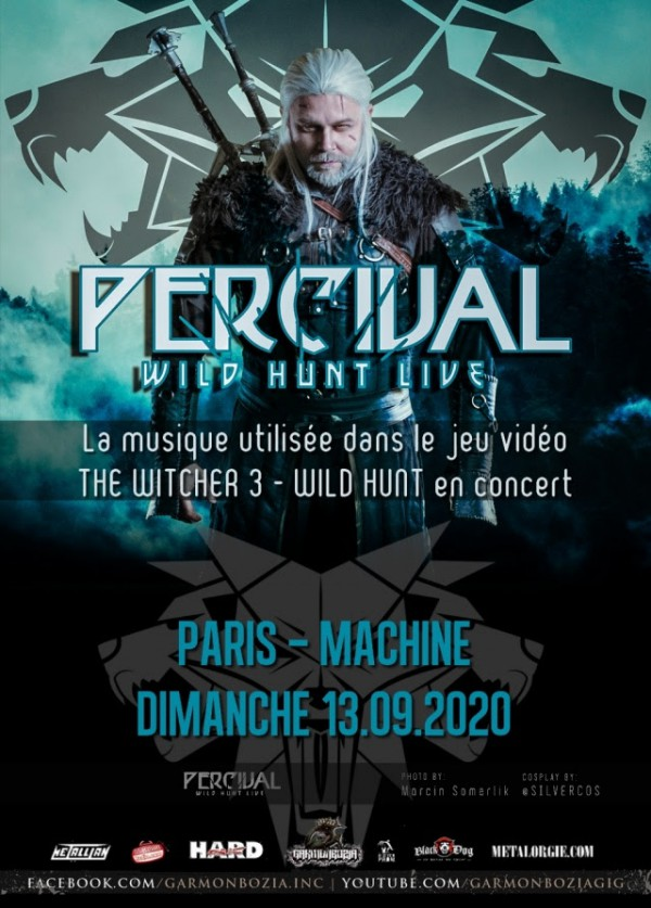 Percival, The Wild Hunt Live, The Witcher, Folk, Paris, concert, 2020
