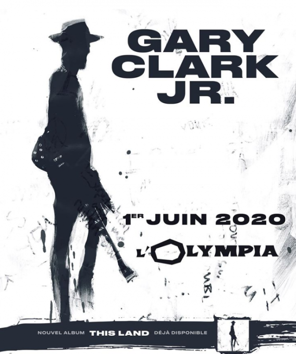 gary clark, blues, rock, guitare, this land, olympia