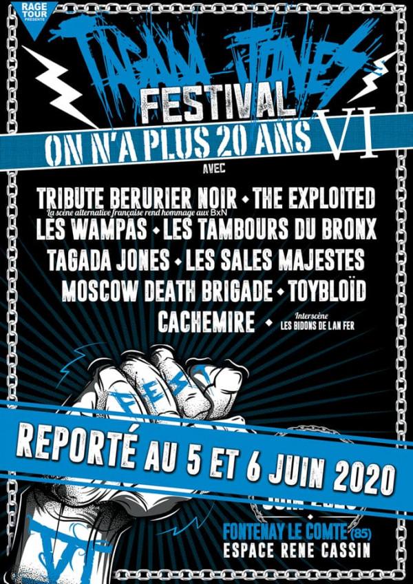 tagada jones, festival, on n'a plus 20 ans, confinement, report