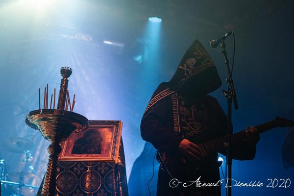 Batushka, Krzysztof Drabikowski, Paris, la Machine, concert, 2020, Garmonbozia