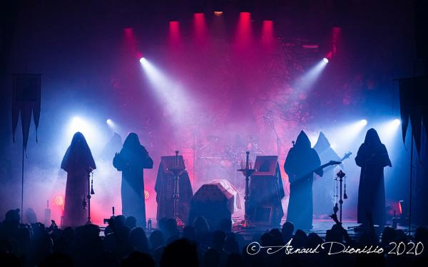 Batushka, Krzysztof Drabikowski, La Machine, Paris, concert, 2020, Garmonbozia