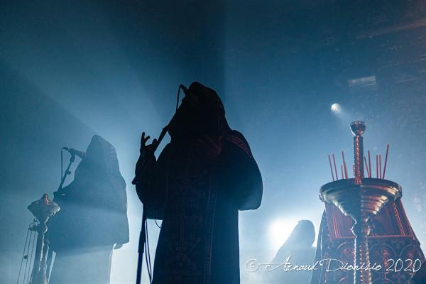 Batushka, Krzysztof Drabikowski, La Machine, Paris, 2020, concert, Garmonbozia