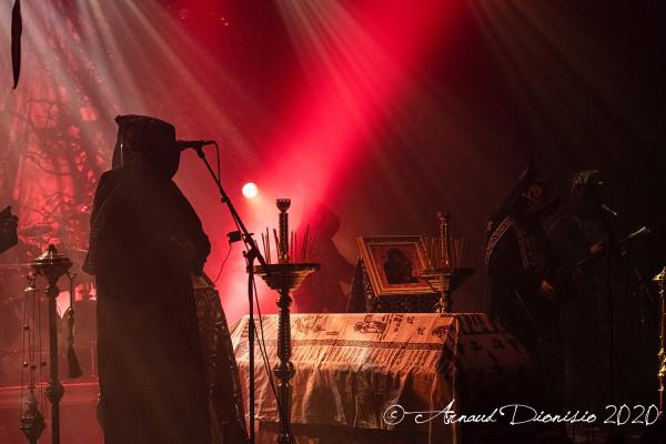 Batushka, Krzysztof Drabikowski, la Machine, concert, Paris, 2020, Garmonbozia