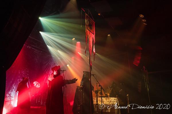 Batushka, Paris, La Machine, concert, 2020, Garmonbozia