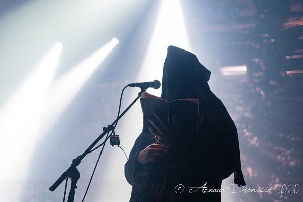 Batushka, La Machine, Paris, concert, 2020, Garmonbozia