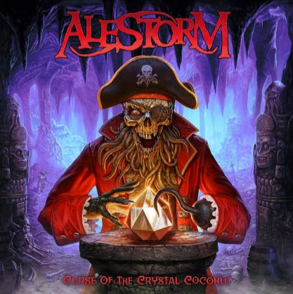 alestorm, crystal coconut, pirate metal, christopher bowes