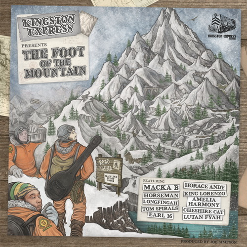 Kingston Express - The foot Of The Mountain pochette