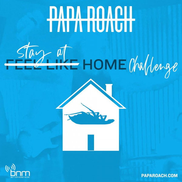 Papa Roach, nouveau clip, Feel Like Home, 2020