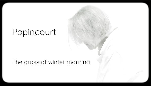 Olivier Popincourt - The grass of winter morning