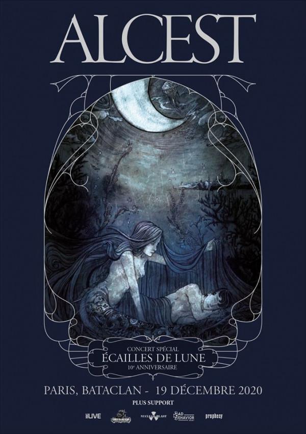 alcest, concert, Ecailles de Lune, dixième anniversaire, Bataclan, Paris