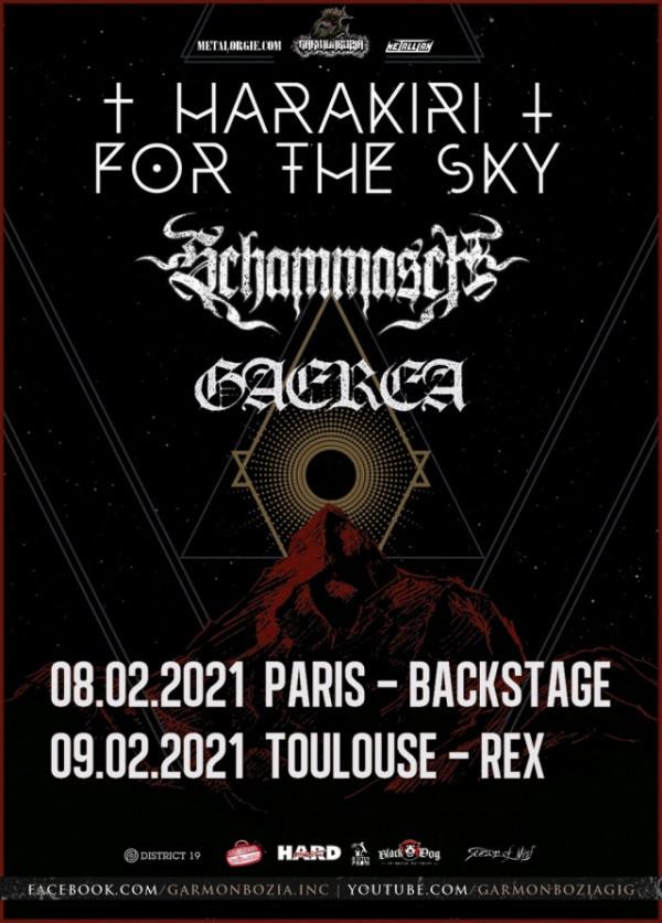 2021, concert, garmonbozia, harakiri for the sky, schammash, garera