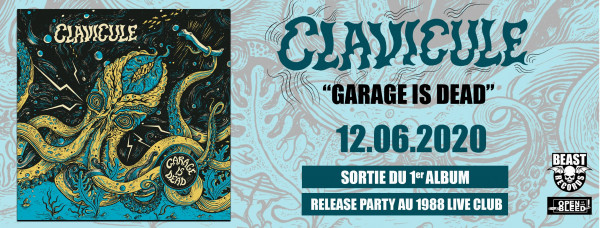 Clavicule, Garage Is Dead, album, interview