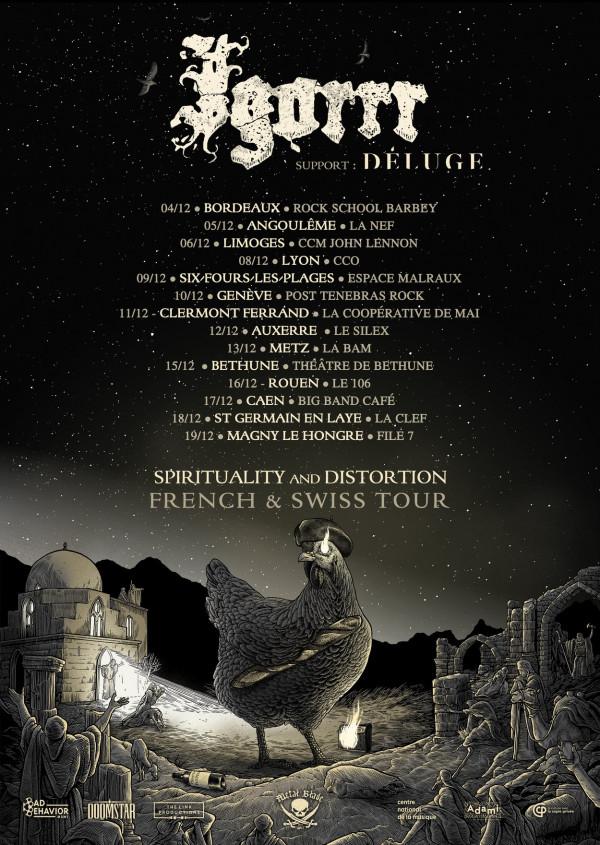 Igorrr, tournée française, Spirituality and Distorsion, 2020