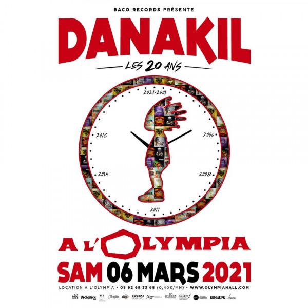 Danakil - Tournée des 20 ans