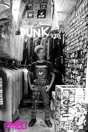 Bangkok, punk rock, the lunatix, crocodile punk shop, chatuchak market
