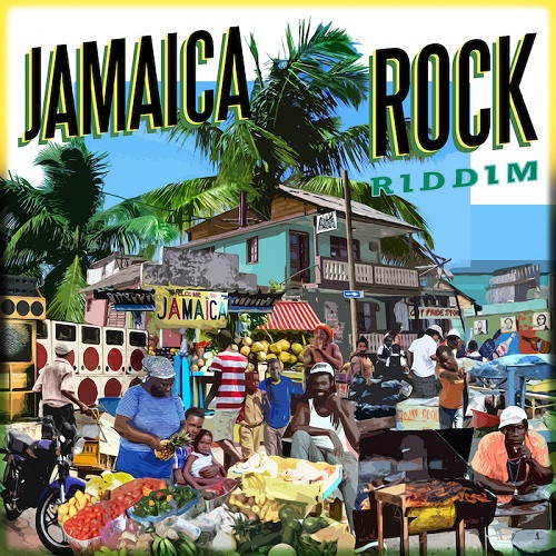 Cover Jamaica Rock Riddim - Maximum Sound