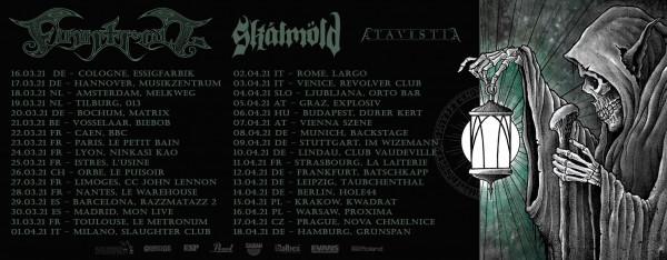 finntroll, skalmold, tournée, 2021, atavistia