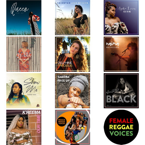 Cover Female Reggae Voices - By Mag-Mamatte