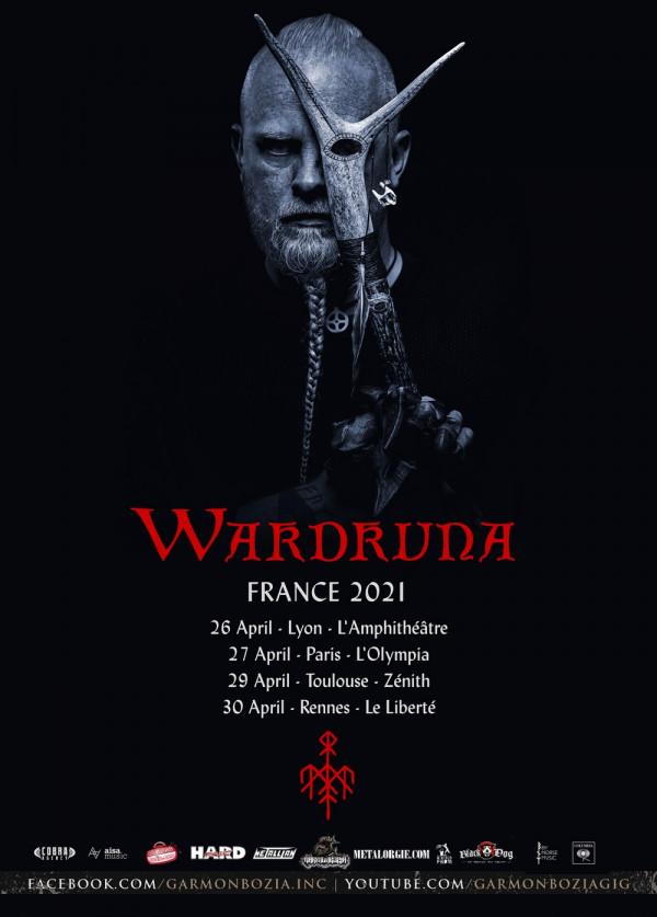 wardruna, tournée, olympia, zénith, garmonbozia, kvitravn, einar selvik, viking