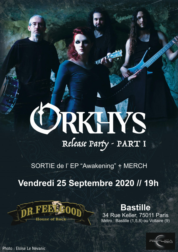Orkhys, Awakening, The End Of Lies, nouvel EP, release party, nouveau clip, heavy, thrash, black metal, celte, 2020