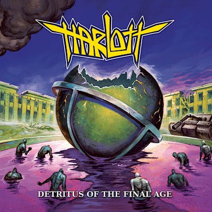 Harlott, nouvel album, Detritus Of The Final Age, 2020, nouveau titre, as we breach, thrash, metal blades records, Cephalic Carnage