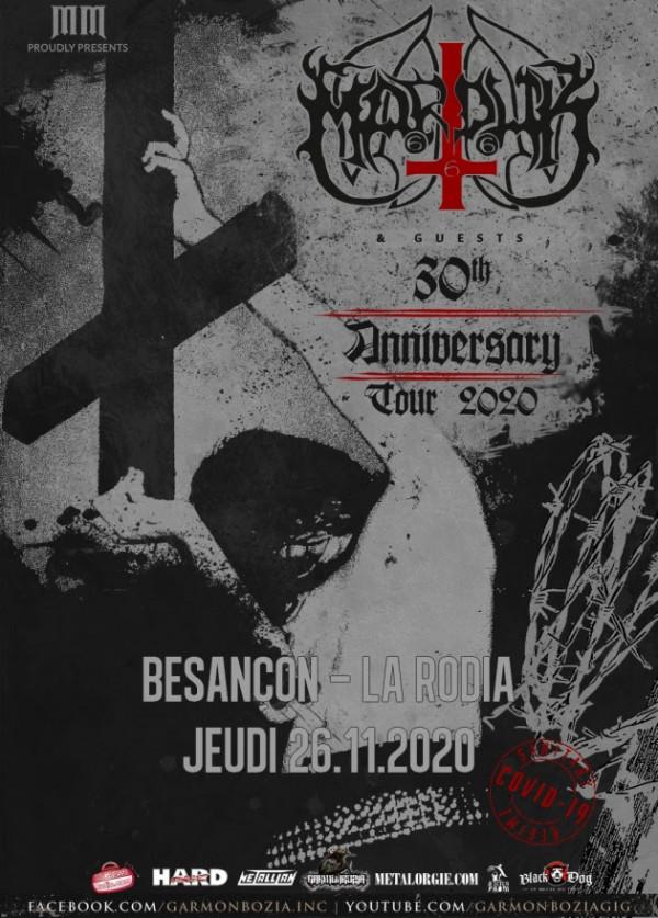 marduk, concert, la rodia, besançon, 2020