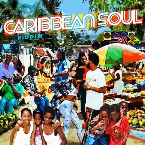 Cover Caribbean Soul Riddim - Maximum Sound