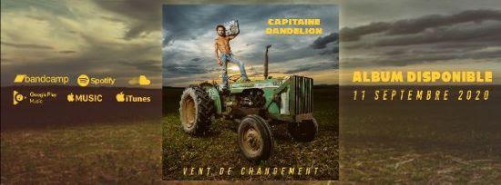 Capitaine Dandelion Album vent de changement