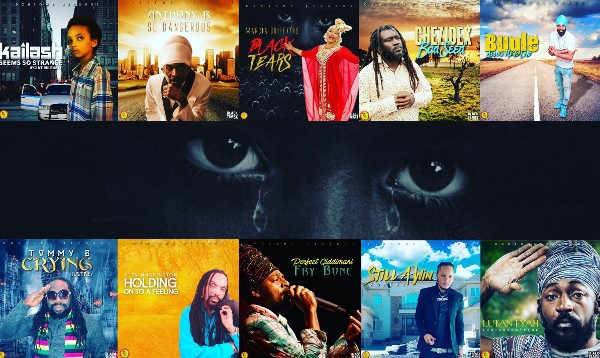 Donsome Records, Black tears, riddim, Adrian Hanson, Marcia griffiths