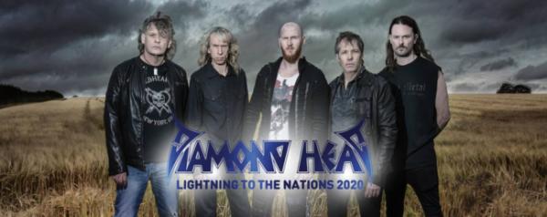 2020, diamond head, clip, cover, lightning to the nations 2020, metallica, no remorse